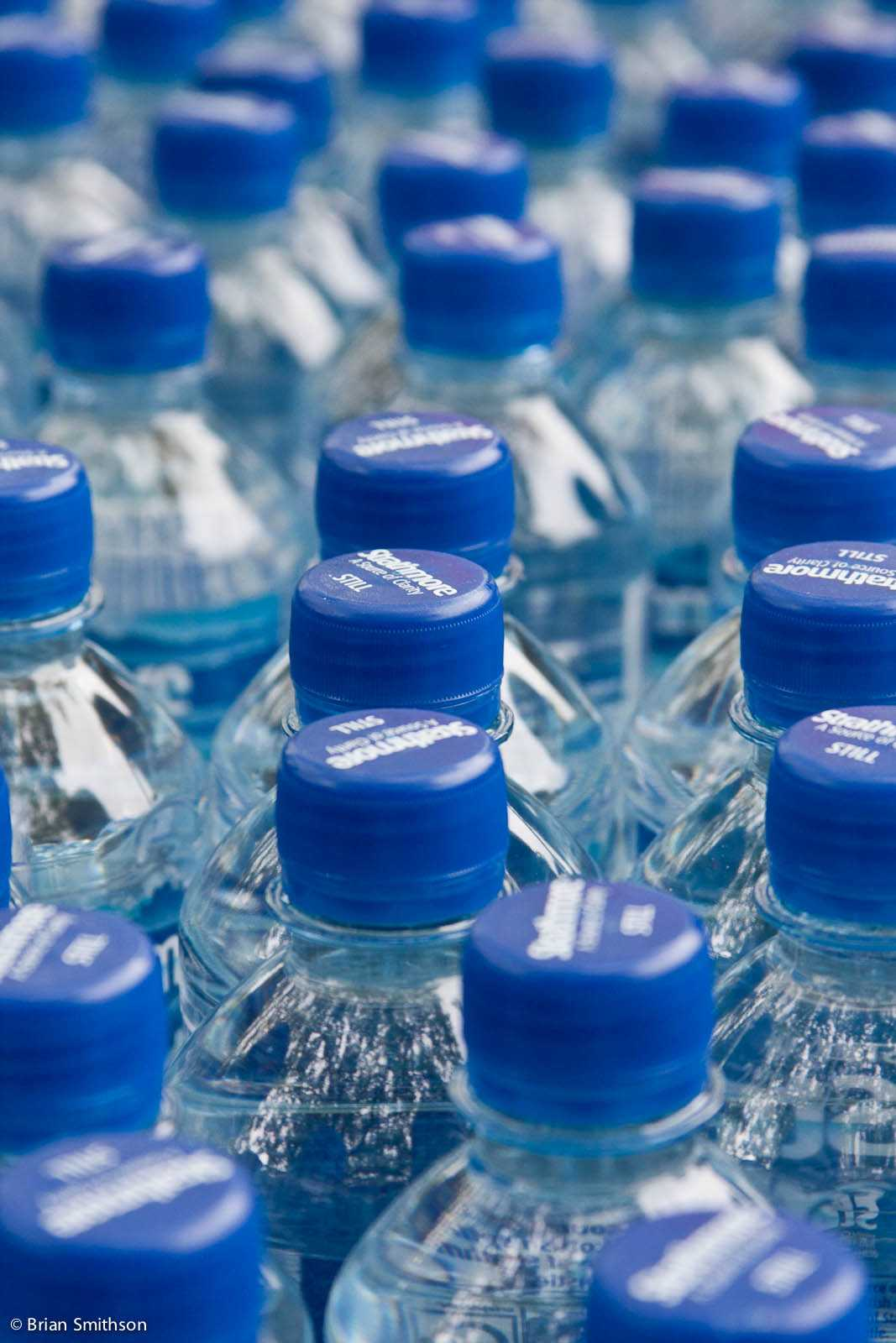 the purchase of bottled water