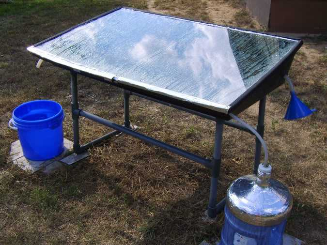 Solar Water Still ~ Ultimate guide to solar water distillers how make a
