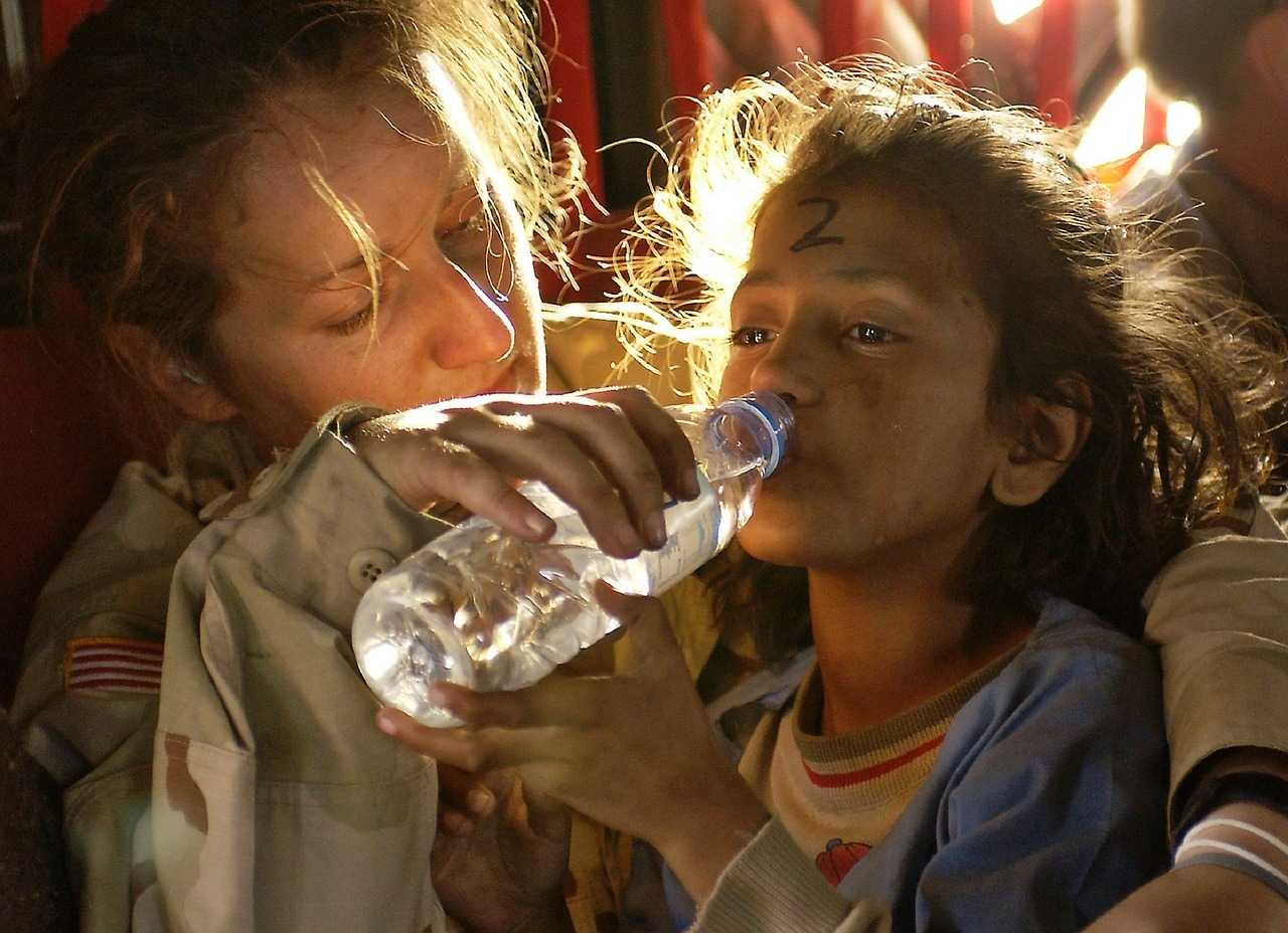 access to better drinking water sources