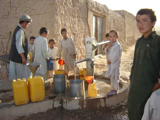 afghanistan water pollution