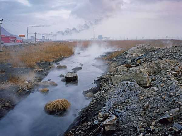 mongolia water pollution
