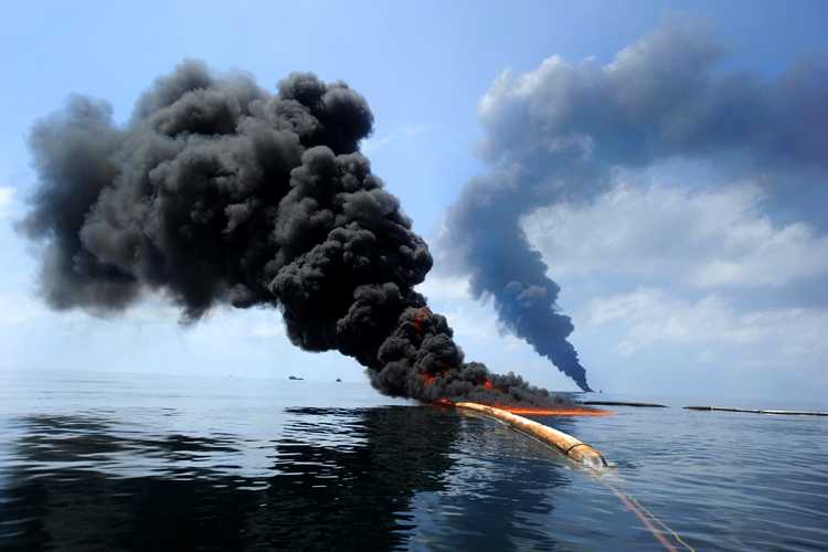 petroleum oil spill
