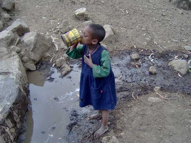 no clean water in africa