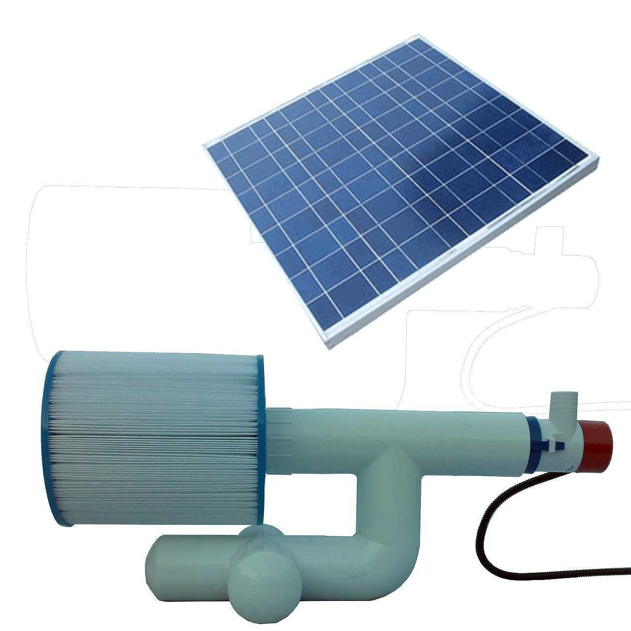 Best solar pool pump and filter system a greener solution for Pool heater and filter