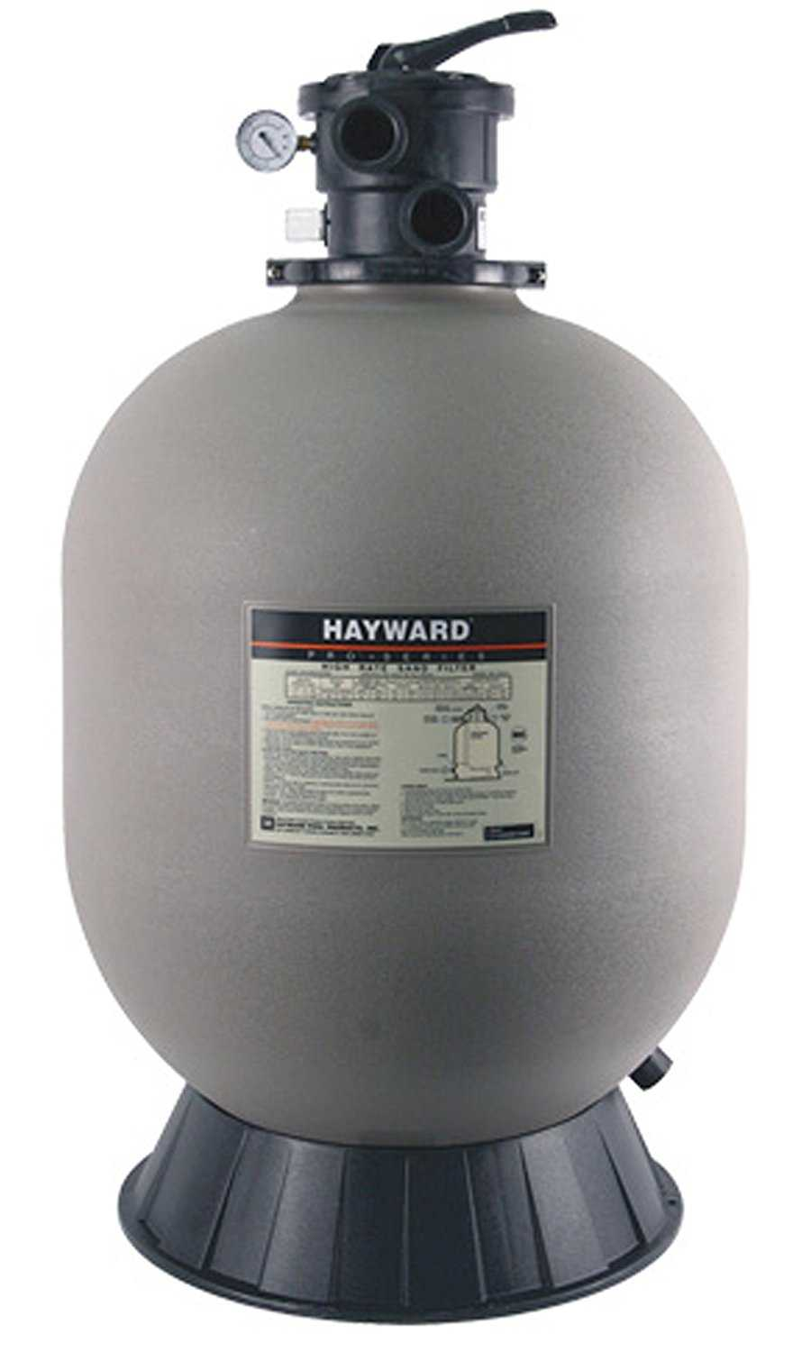 7 best swimming pool filter manufacturers battle of the for Pond sand filter