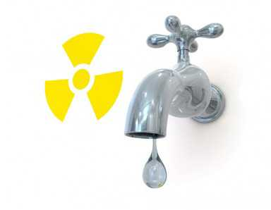 radioactive pollution in water