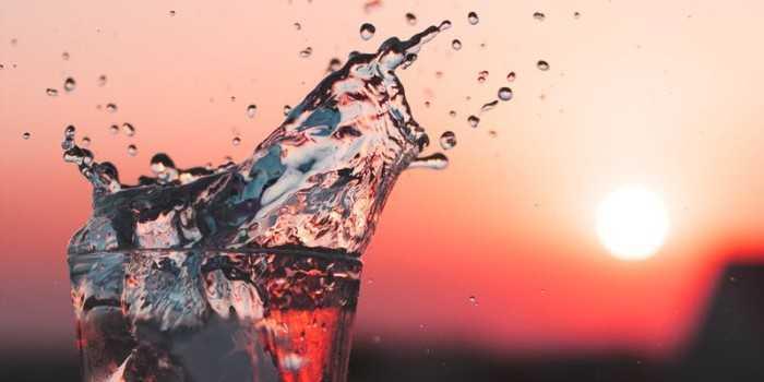 ozonated water